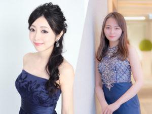 金久保彩佳 ・永井英華子 @ GINZA 7th Studio